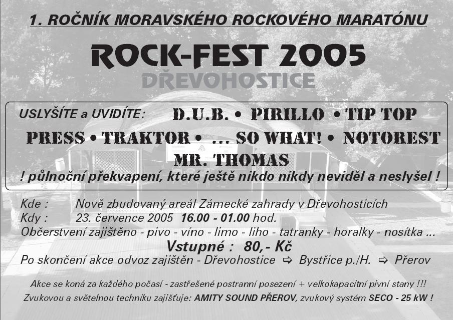ROCKFEST 2005 - plakát