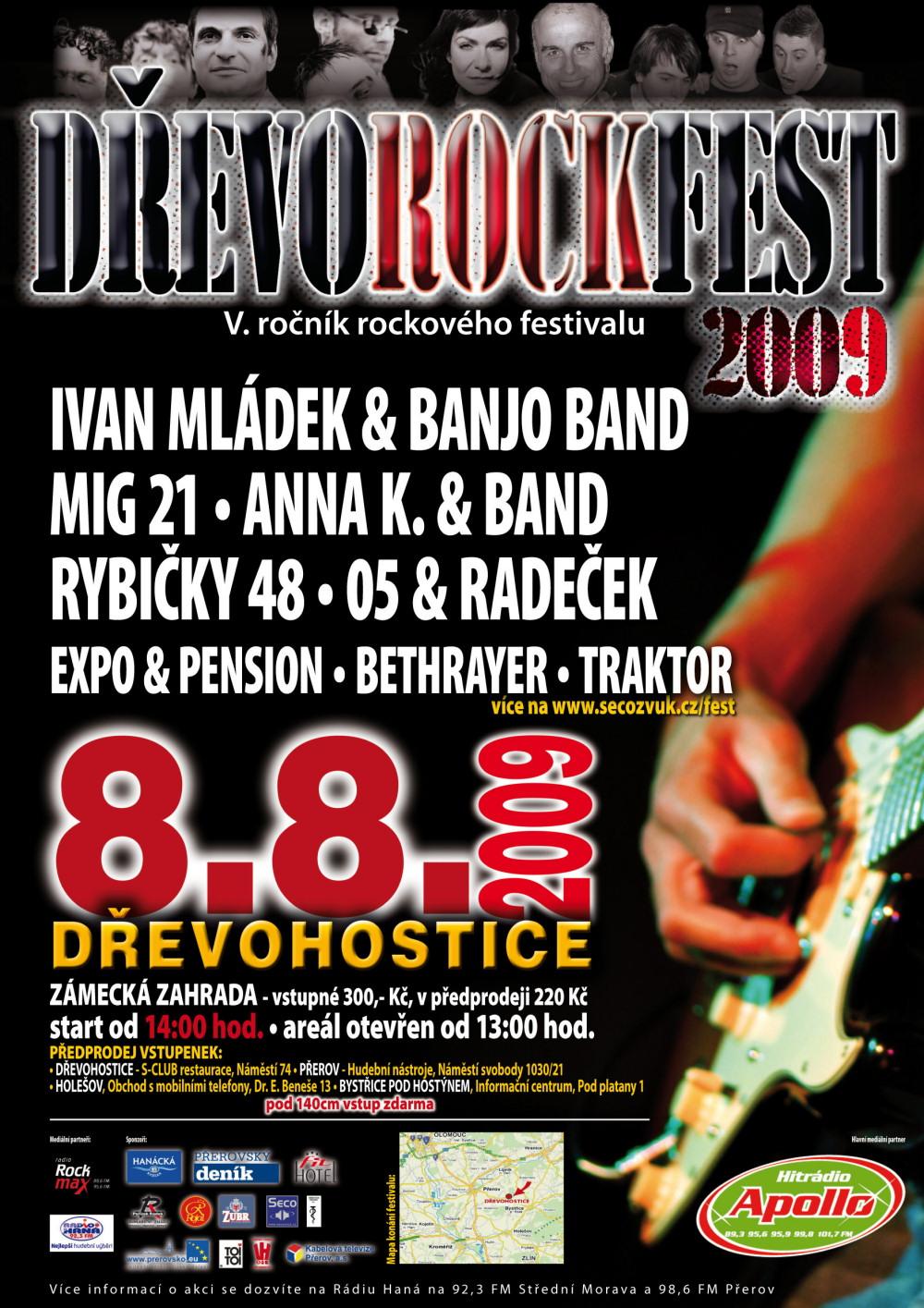 Dřevorockfest 2009 - plakát