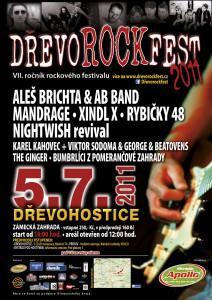 DŘEVOROCKFEST 2011 - plakát