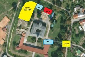 Dřevorockfest - stanování v zámeckém areálu