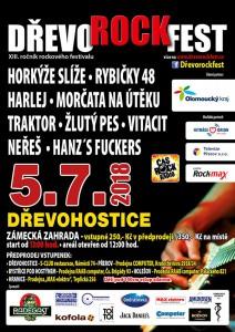Dřevorockfest 2018 - plakát